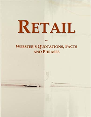 Book Retail: Webster's Quotations, Facts and Phrases