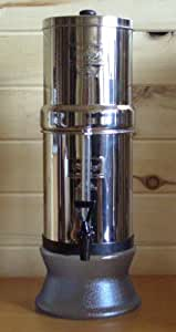 "Travel Berkey with Two 7"" White Ceramic Filters"