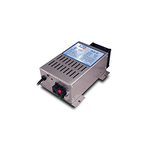 IOTA DLS-45/IQ4 45A 12VDC 120VAC BATTERY CHARGER WITH IQ4 ()