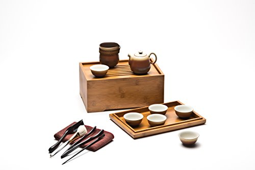 Adeline Ceramic Teaware By Lin's Ceramics Studio, Deluxe Bam