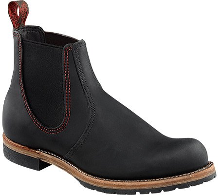 Red Wing Shoes - Chelsea Rancher, Stivali Uomo Black
