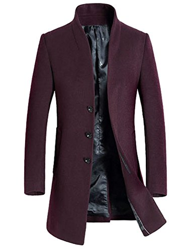 MorryOddy Mens Wool French Front