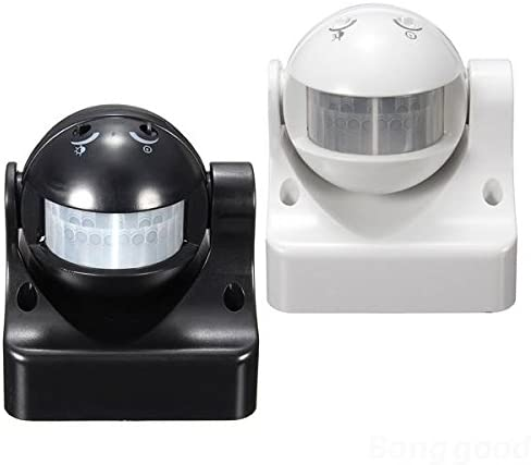 mark8shop 12 m 180 Grado de seguridad PIR Interruptor Detector de movimiento Sensor de movimiento por infrarrojos al aire libre casa: Amazon.es: Hogar