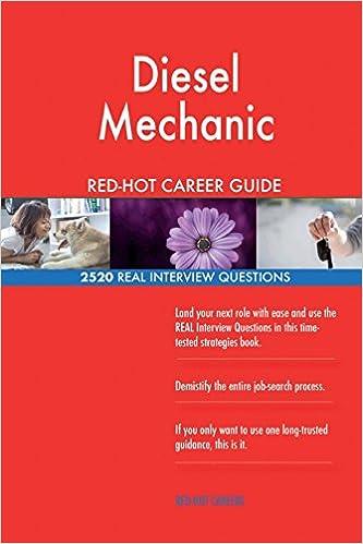 Diesel Mechanic RED-HOT Career Guide