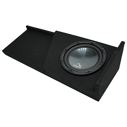 Fits 2007-2013 Chevy Silverado Ext Cab Truck Harmony R124 Single 12 Sub Box Enclosure