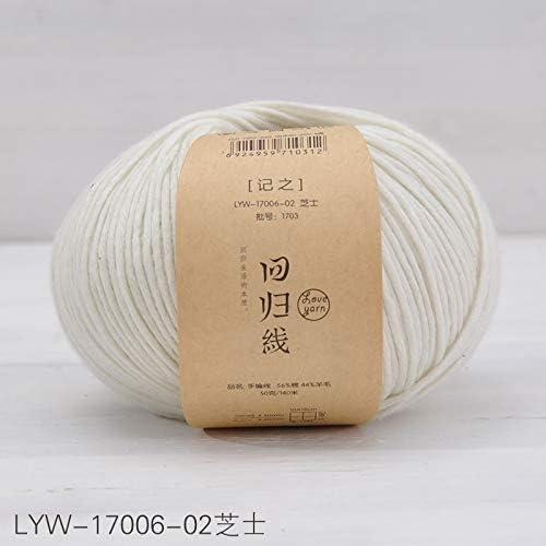 Media gruesa aguja de lana de algodón hilo de ganchillo DIY ...
