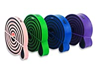 Pull Up Assist Bands (Set or Single) - Best Resistance Bands for Assisted Pullups, Muscle Toning, Stretching, Legs, Glutes, Crossfit, Physical Therapy, Pilates & Yoga - Improve Mobility & Strength