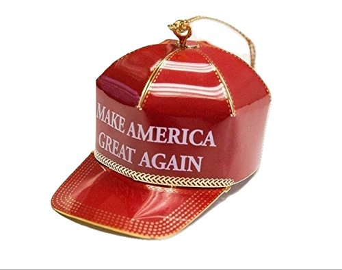 Trump Make America Great Again Red Cap Collectible Ornament (Again Ornament)