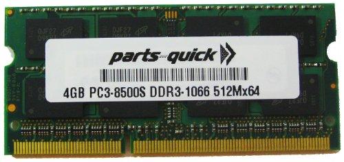 4GB DDR3 Panasonic Toughbook 19 Mk4 CF-19R Toughbook 31 Mk1 CF-31 Toughbook 52 Mk3 CF-52 1066MHz 204 pin SODIMM Memory RAM