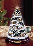 Thomas Kinkade A Holiday Gathering Illuminated Christmas Tree: Holiday Home Decoration by The Bradford Editions