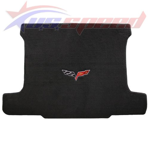 U.S. Speed 2005-2013 Corvette COUPE Cargo Mat Ebony With C6 Logo