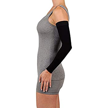 282f4b7d92 Juzo Soft 2001CG Armsleeve 20-30mmHg w/ Silicone Top Band Model: 2001MXCG -  MAX, Size: III - Medium, Length: R-Regular, Color: Black 10
