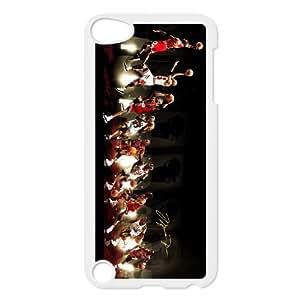 ipod 5 White Michael Jordan phone cases&Holiday Gift