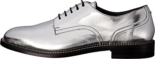 DSQUARED2 Womens Oxford Silver KZcMP