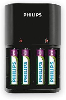 Philips SCB1450NB/12 - Cargador para AAA/AA (4 Pilas Recargables ...