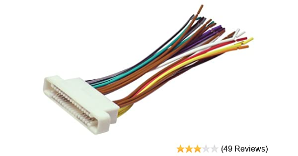 Amazoncom Scosche GM07b 200007 GM Ribbon Style Harness Car Electronics: 2001 Bonneville Stereo Wiring Harness At Gundyle.co