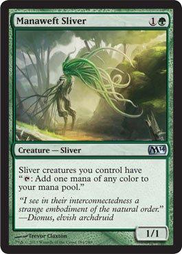 Sliver Magic Gathering (Magic: the Gathering - Manaweft Sliver - Magic)