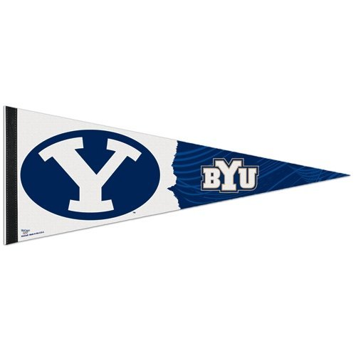 WinCraft NCAA Brigham Young University Premium Pennant, 12