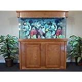R&J Enterprises ARJ00239 Birch Wood Aquarium Canopy, 48 by 13-Inch, Honey