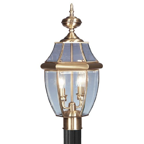 Outdoor Lighting Antique Brass Finish in Florida - 6