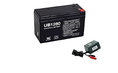 Universal Power Group 12V 8AH Replacement Battery for Lowrance Elite-4x DSI Fishfinder WITH CHARGER