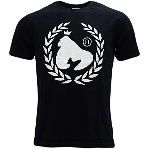 Money Laurel Leaf Logo T-Shirt - Ape Laurel Black M (Ape Logo T-shirt)