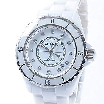 competitive price 559b1 bfd70 Amazon   [シャネル]CHANEL 腕時計 J12 38mm ホワイト 付属:国際 ...