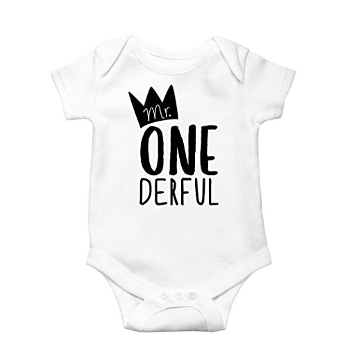 oys 1st Birthday Onesie First Birthday Onesie for boys, White, Onesie, 12-18 mo. Long Sleeve ()