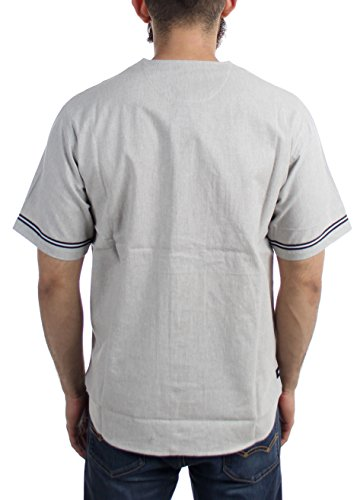 Heather Lt 10 Ellis Grey Baseball Men's Jersey Deep qYwZv