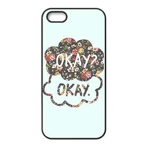 DIYPCASE Diy Hard Case for iPhone 5,5S ,Customized case Okay Okay