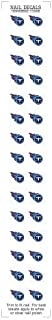 NFL Tennessee Titans Stickers d'ongles Worthy Promotional Products