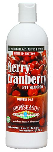 Showseason Animal Products Merry Cranberry Pet Shampoo 16 oz.