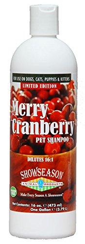 Merry Cranberry Pet Shampoo 16 oz.