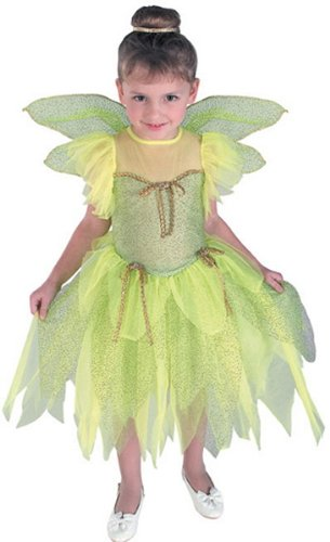 Tinkerbell Costume for Kids - Large