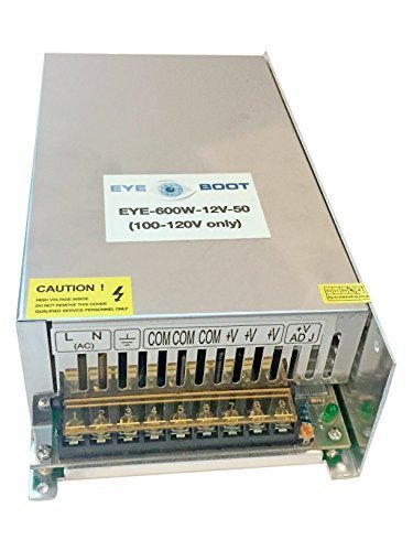 Eyeboot 12V 50A DC Universal Regulated S - 50a Dc Power Supply Shopping Results
