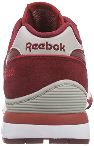 Basses White Athletic Steel Baskets Rouge Burgundy Collegiate Reebok Homme Red 6000 Rot GL Power IqOZUZ
