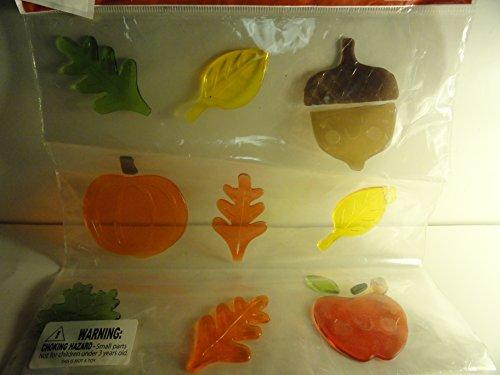 Autumn Pumpkins Apples Leaves Acorn Gel (Acorn Gel)