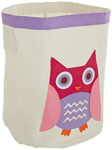 Whitmor 6241-4761 Kid's Canvas Collection Pink Owl