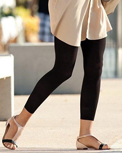 Opaque Fashion Leggings - LEggs 01310 Opaque Fashion Leggings - Black - B