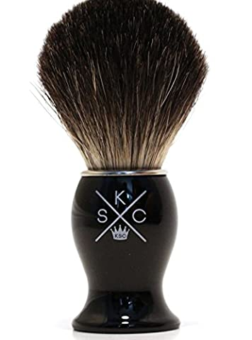 100% Pure Badger Shaving Brush. Designed for your Best Wet Shave. Use with Safety Razor, Double Edge Razor, Straight Razor or Shaving - Best Shave