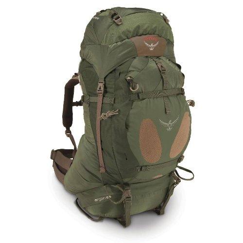 Osprey Argon 85 Backpack (Kelp Green, Medium), Outdoor Stuffs