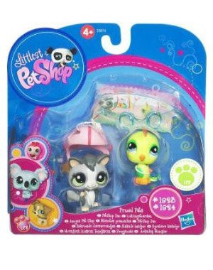 - Littlest Pet Shop Prized Pet Pairs Series 1 Figures Sugar Glider Bird