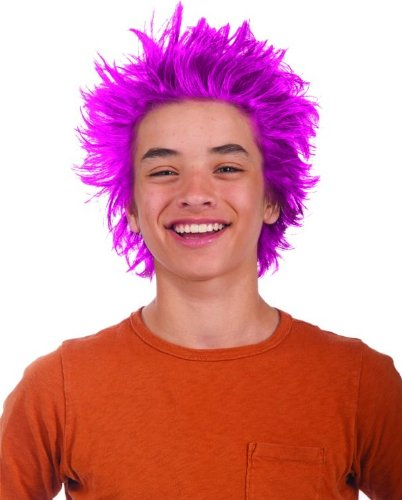 Rubies Pink Gel Hair Color (Spirit Halloween Giggles The Clown)