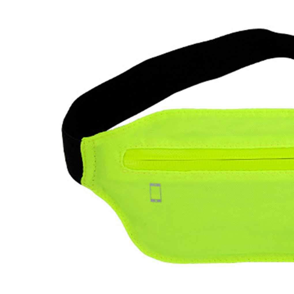 Outdoor Waterproof Men Women Running Casual Waist Bag Zipper Unisex Nylon Small Waist Bag Travel Waist Pack Miaomiaogo