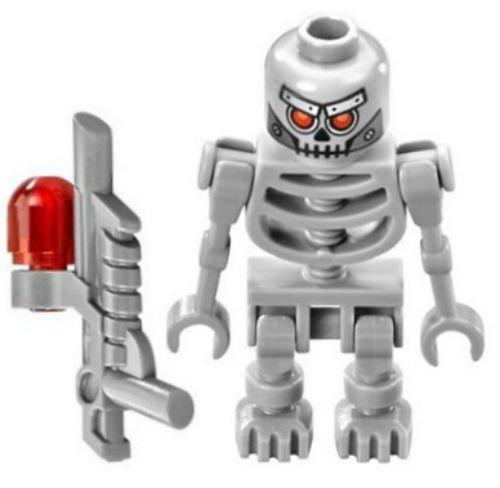 New Lego Movie Robo Skeleton Minifig 70817 70814 70807 Robot Droid Minifigure (70814 Lego Movie)