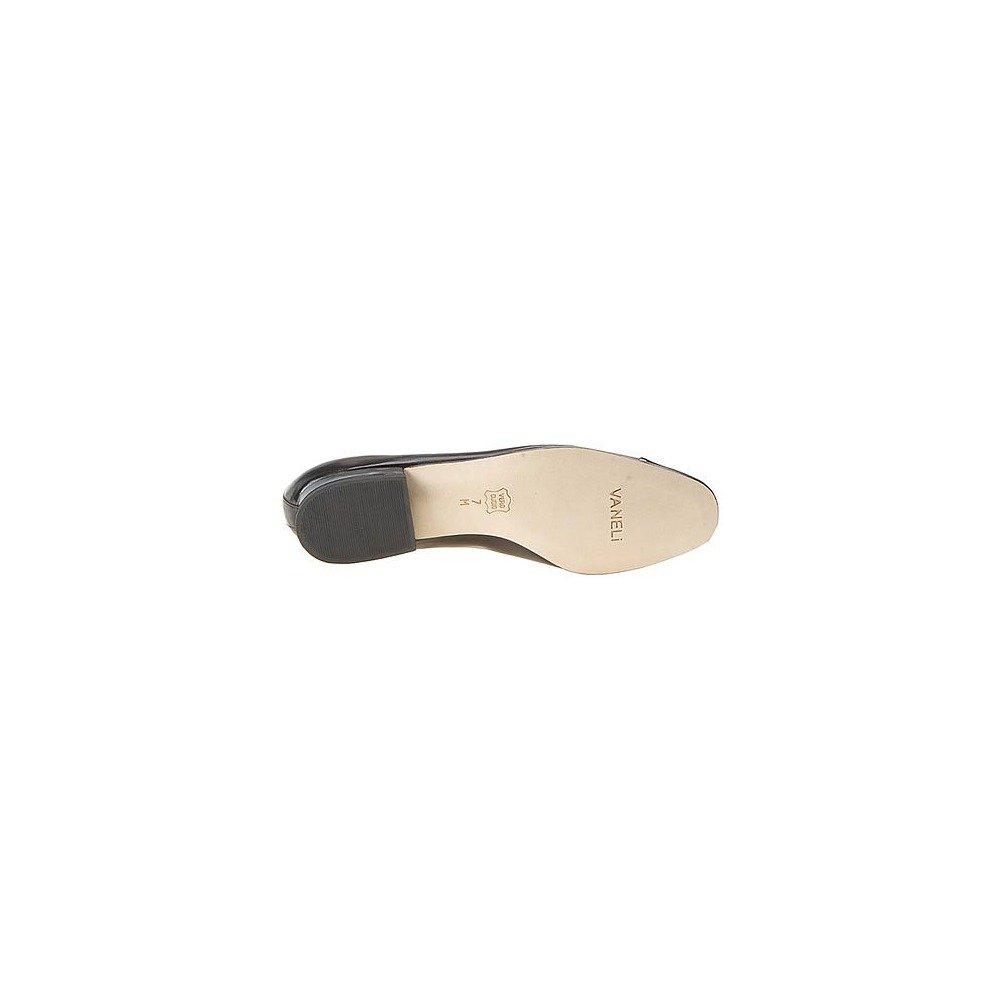 VANELi Women's FC-313 Flat B0002GNCCA 8 D US|Black-black-patent