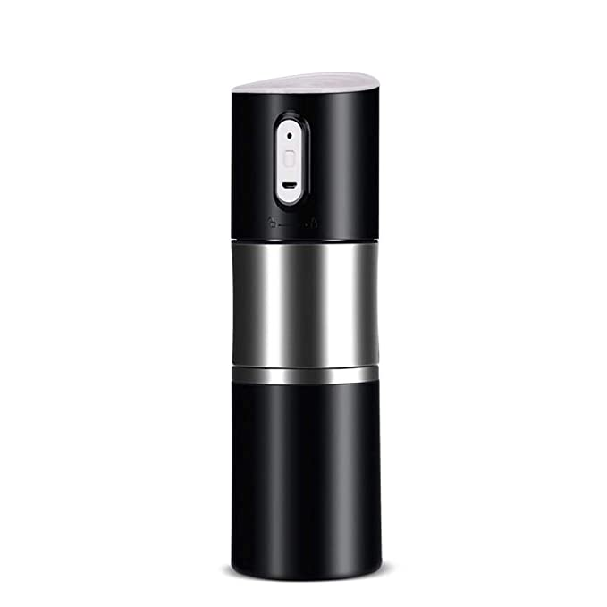 Rziioo Portable Rechargeable Coffee Maker,One-Button Operation Perfect for Outdoor Travel Camping Kitchen Office,Red