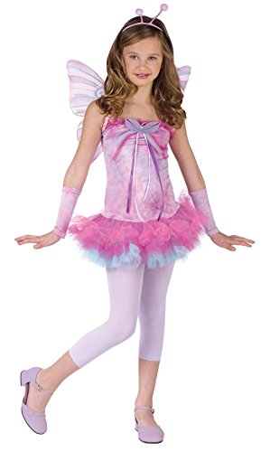 Fluttery Butterfly Teen 0-9 Costume Item - (Halloween Costumes For 2 Teens)