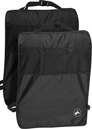 OxGord Kick Mats Back Seat Protector w/Storage Organizer Pocket - 2 Pack...