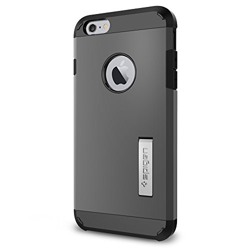 Spigen Tough Armor iPhone 6 Plus Case with Kickstand and Extreme Heavy...